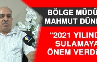 Dündar: 2021 Yılında Sulamaya Önem Verdik