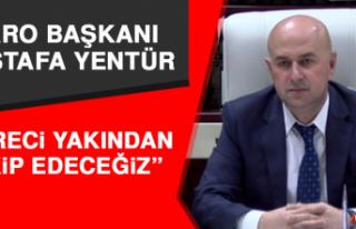 """Elazığ Baro Başkanı Yentür, """"Süreci Yakından..."""