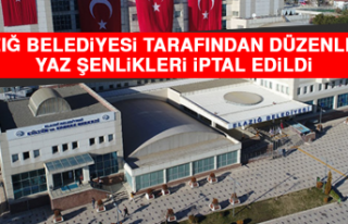 Elazığ Belediyesi Tarafından Düzenlenen Yaz Şenlikleri...