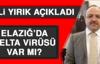 Elazığ'da Delta Virüsü Var Mı?