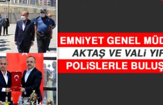 Emniyet Genel Müdürü Aktaş ve Vali Yırık Polislerle...