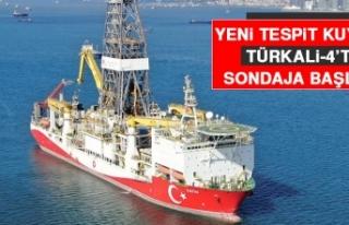 Fatih Sondaj Gemisi Yeni Tespit Kuyusu Türkali-4'te...