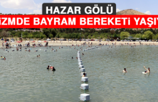 Hazar Gölü, Turizmde Bayram Bereketi Yaşıyor