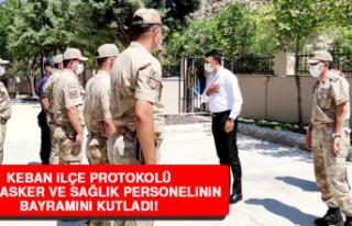 Keban İlçe Protokolü Polis, Asker ve Sağlık Personelinin...