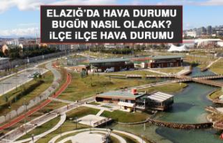 5 Ağustos'ta Elazığ'da Hava Durumu Nasıl Olacak?