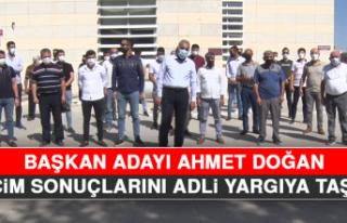 Başkan Adayı Ahmet Doğan, Seçim Sonuçlarını...