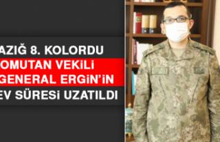 Elazığ 8. Kolordu Komutan Vekili Tuğgeneral Ergin'in...