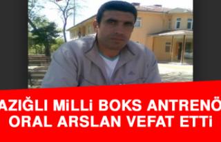 Elazığlı Milli Boks Antrenörü Oral Arslan Vefat...
