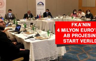 FKA'nın 4 Milyon Euro'luk AB Projesine Start...