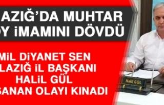 Mil Diyanet Sen Elazığ İl Başkanı Halil Gül...