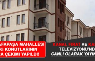 Mustafapaşa Mahallesi TOKİ Konutlarının Kura Çekimi...