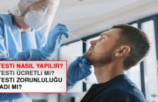 PCR testi zorunluluğu başladı mı?