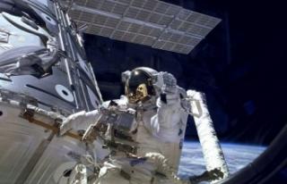 Uluslararası Uzay İstasyonu'nda çatlaklar...