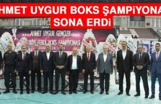 Ahmet Uygur Boks Şampiyonası Sona Erdi
