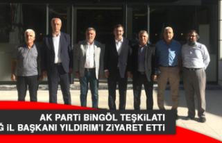 AK Parti Bingöl Teşkilatı, Elazığ İl Başkanı...