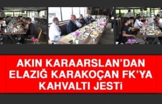 Akın Karaarslan'dan E.Karakoçan FK'ya Kahvaltı...