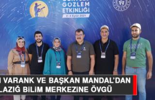 Bakan Varank ve Başkan Mandal'dan Elazığ Bilim...