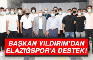 Başkan Yıldırım'dan Elazığspor'a Destek