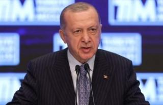 Cumhurbaşkanı Erdoğan: Türkiye dünya ihracatında...