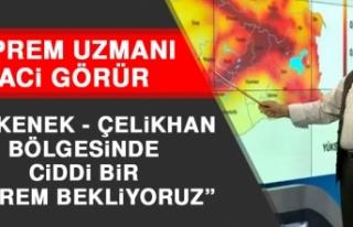Deprem Uzmanı Görür: Erkenek - Çelikhan Bölgesinde...