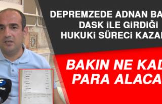 Depremzede Adnan Baydaş, DASK İle Girdiği Hukuki...