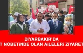 Diyarbakır'da Evlat Nöbetinde Olan Aileleri Ziyaret...