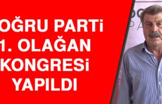 Doğru Parti 1. Olağan Kongresi Yapıldı