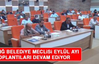 Elazığ Belediye Meclisi Eylül Ayı Toplantıları...