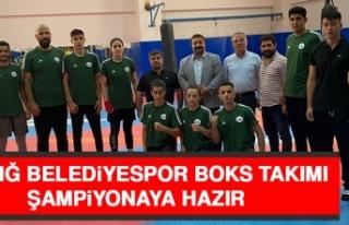 Elazığ Belediyespor Boks Takımı Şampiyonaya Hazır