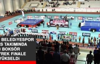 Elazığ Belediyespor Boks Takımında 3 Boksör Çeyrek...