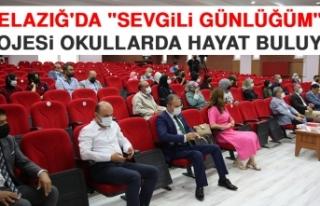 """Elazığ'da """"Sevgili Günlüğüm""""..."""