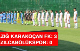 Elazığ Karakoçan FK: 3 - Kızılcabölükspor:...