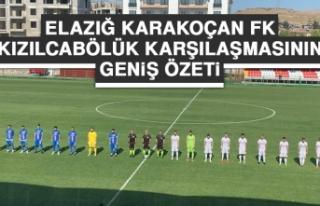 Elazığ Karakoçan FK – Kızılcabölükspor Karşılaşması...