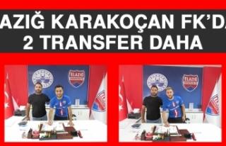 Elazığ Karakoçan FK'dan 2 Transfer Daha