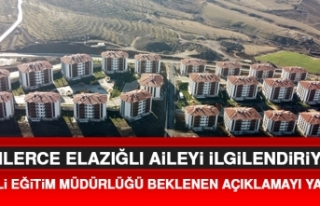 Elazığ Milli Eğitim Müdürlüğü'nden Taşımalı...