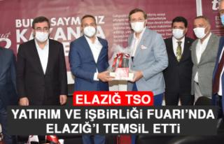 Elazığ TSO Yatırım ve İşbirliği Fuarı'nda...