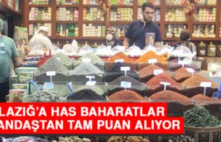 Elazığ'a Has Baharatlar Vatandaştan Tam Puan...