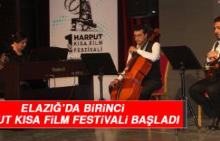 Elazığ'da Birinci Harput Kısa Film Festivali...