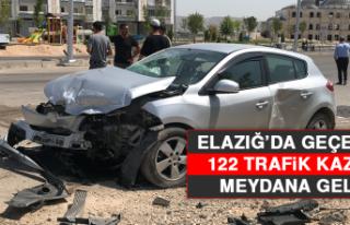 Elazığ'da Geçen Ay 122 Trafik Kazası Meydana...