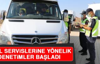 Elazığ'da Okul Servislerine Yönelik Denetimler...