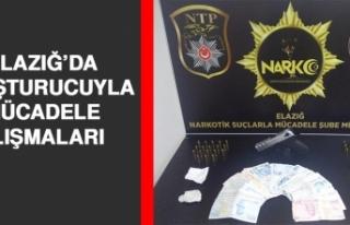 Elazığ'da Uyuşturucuyla Mücadele Çalışmaları