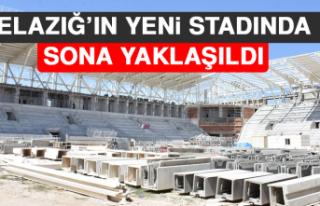 Elazığ'ın Yeni Stadında Sona Gelindi