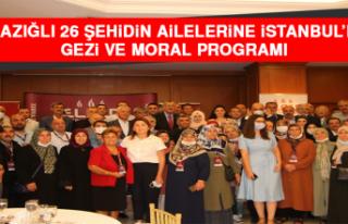 Elazığlı 26 Şehidin Ailelerine İstanbul'da...