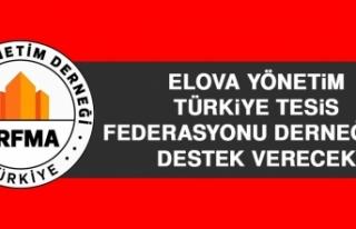 ELOVA Yönetim Türkiye Tesis Federasyonu Derneği'ne...