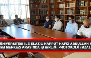 Fırat Üniversitesi İle Elazığ Harput Hafız Abdullah...