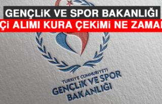 Gençlik ve Spor Bakanlığı İşçi Alımı Kura...