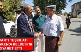 İYİ Parti Teşkilatı Mollakendi Beldesi'ni Ziyaret...