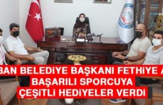 Keban Belediye Başkanı Fethiye Atlı, Başarılı...