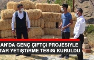 Keban'da Genç Çiftçi Projesiyle Mantar Yetiştirme...