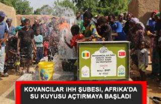 Kovancılar İHH Şubesi, Afrika'da Su Kuyusu Açtırmaya...